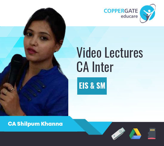 CA Inter EIS-SM,Only EIS/SM by CA Shilpum Khanna [Full Course]