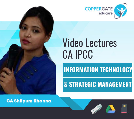 CA IPCC IT & SM,Only IT/SM by CA Shilpum Khanna [Full Course]