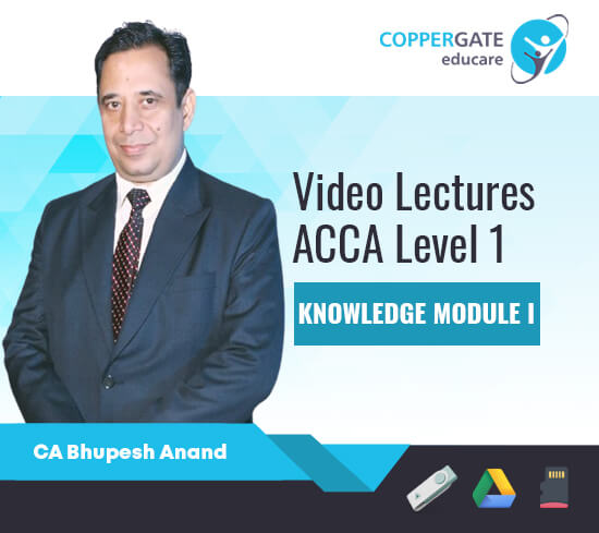 ACCA Knowledge Level Subjects (F1, F2, F3) by CA Bhupesh Anand [Regular]