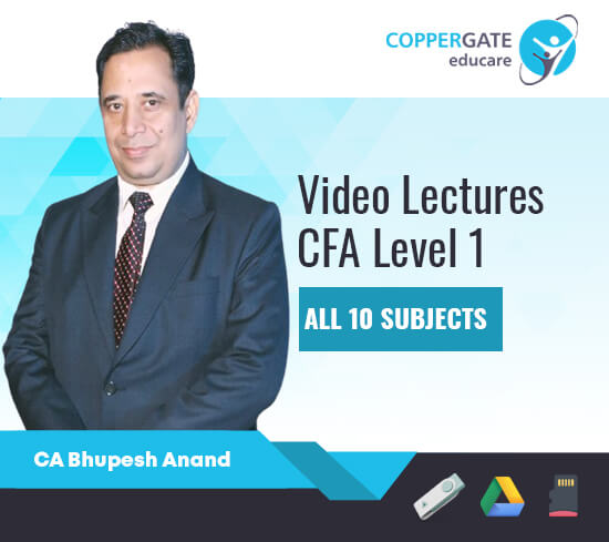 CFA Level 1 Subjects by CA Bhupesh Anand [Regular]