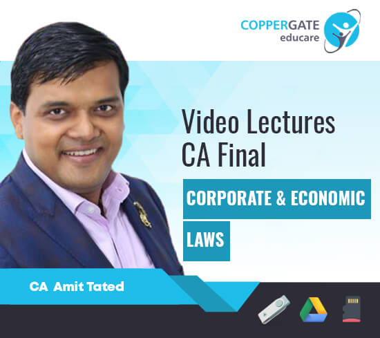 CA Final New Course Corporate & Economic laws by CA Amit Tated [Full Course]