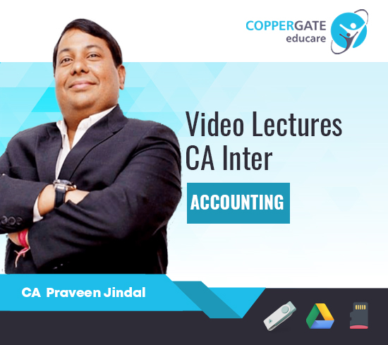 CA Inter Group-1 Accounting by CA Praveen Jindal [Regular Course]