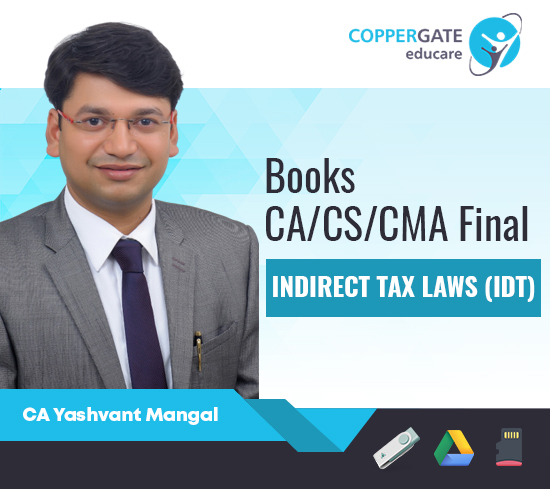 CA Final IDT- Questionnaire + MCQ's / Summary / Conceptual Books by CA Yashvant Mangal – Pre Booking