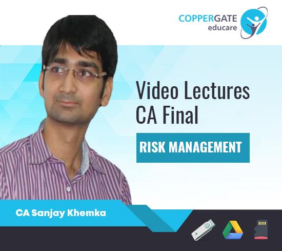 CA Final New Syllabus Risk Management LIVE BATCH by CA Sanjay Khemka [Full Course]