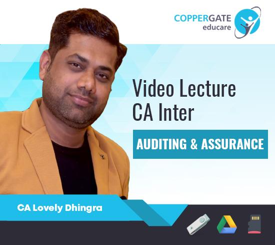 CA Inter Audit by CA Lovely Dhingra [Regular]