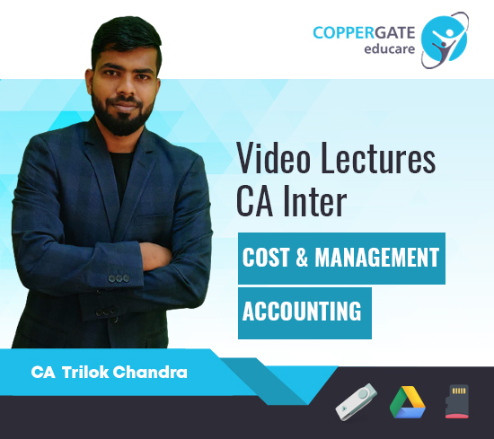 CA Inter Cost & Management Accounting by CA Trilok Chandra [Full Course]