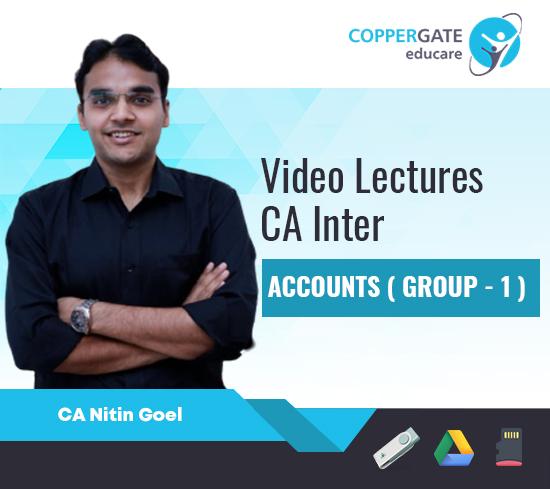 CA Inter Accounts (Group -1) by CA Nitin Goel [Regular]