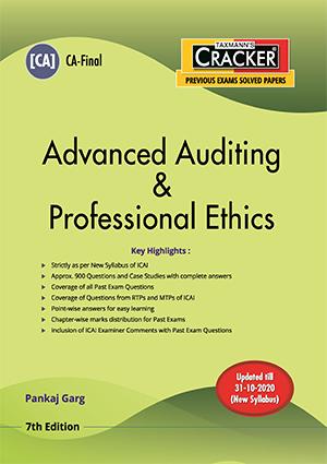 CA Final New Syllabus Advanced Auditing & Professional Ethics by Pankaj Garg [ Cracker-cum-Compiler]