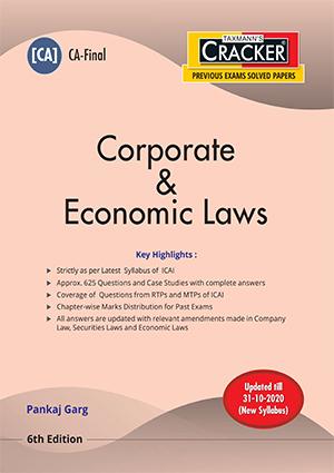CA Final New Syllabus Corporate and Economic Laws by Pankaj Garg [ Cracker-cum-Compiler]
