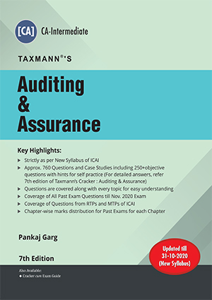 CA Inter Auditing and Assurance by Pankaj Garg [Concise Study Material]