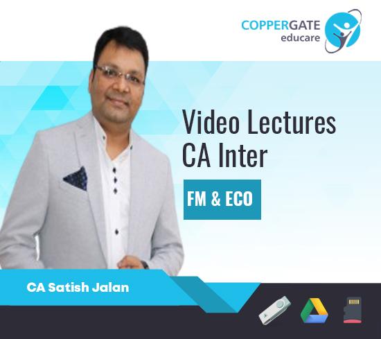 CA Inter FM & ECO by CA Satish Jalan [Regular]