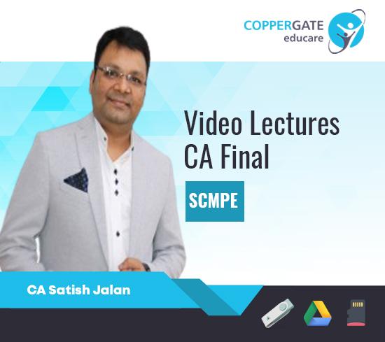 CA Final SCM & PE by CA Satish Jalan [Regular/Fast Track]