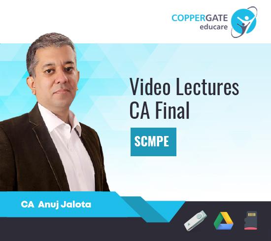 CA Final SCMPE by CA Anuj Jalota [Regular/Crash Course]