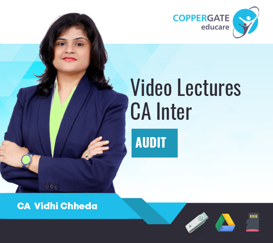 CA Inter Auditing and Assurance by CA Vidhi Chheda